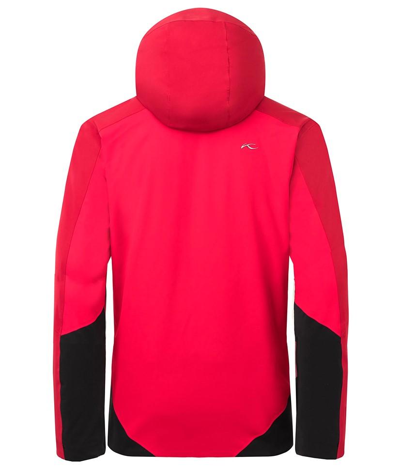 Kjus Boval Ski Jacket-Scarlet Red 2.