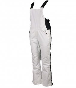 Karbon Emerald Bib Pant-White Black