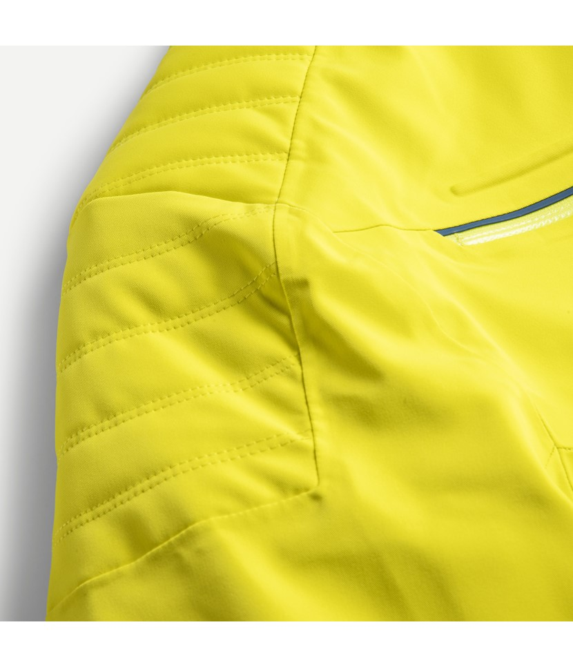 Kjus Formula Mens Ski Jacket-Citric Yellow 3.