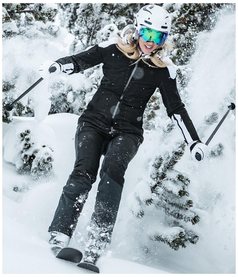 Kjus Freelite Ski Jacket-Black White 4.