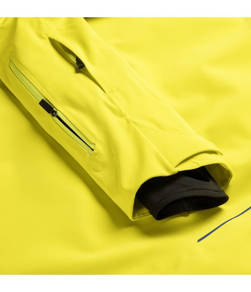 Kjus Formula Mens Ski Jacket-Citric Yellow 4.