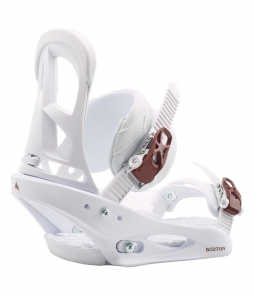 Burton Stiletto White 2020 Snowboard Binding