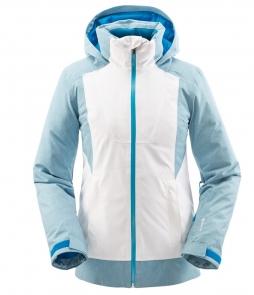 Spyder Voice GTX Jacket White Blue