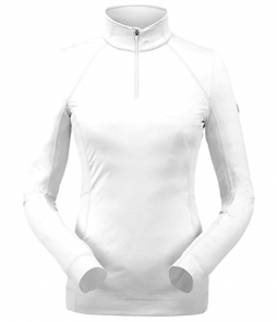 Spyder Savona Zip T-Neck Mid-Layer-White