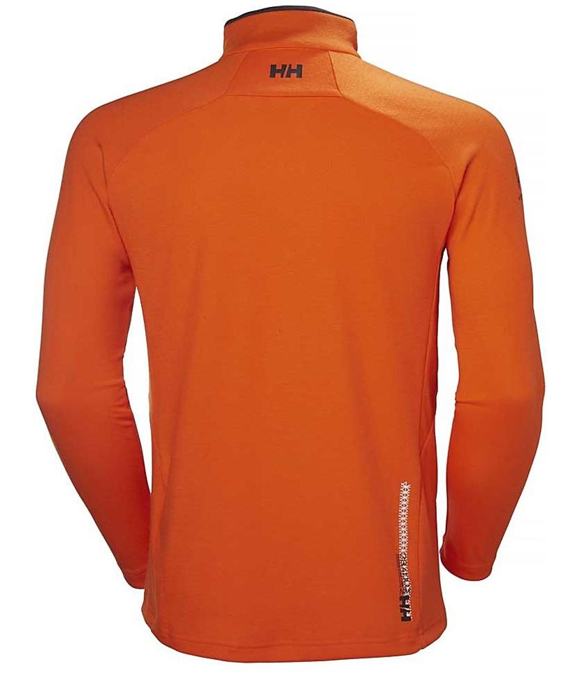 Helly Hansen HP Pullover Midlayer-Orange 2.