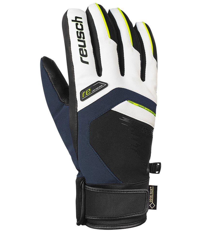 Reusch Beat Gore-Tex Glove Navy and White
