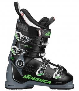 Nordica Speedmachine 110 Ski Boots Black Green