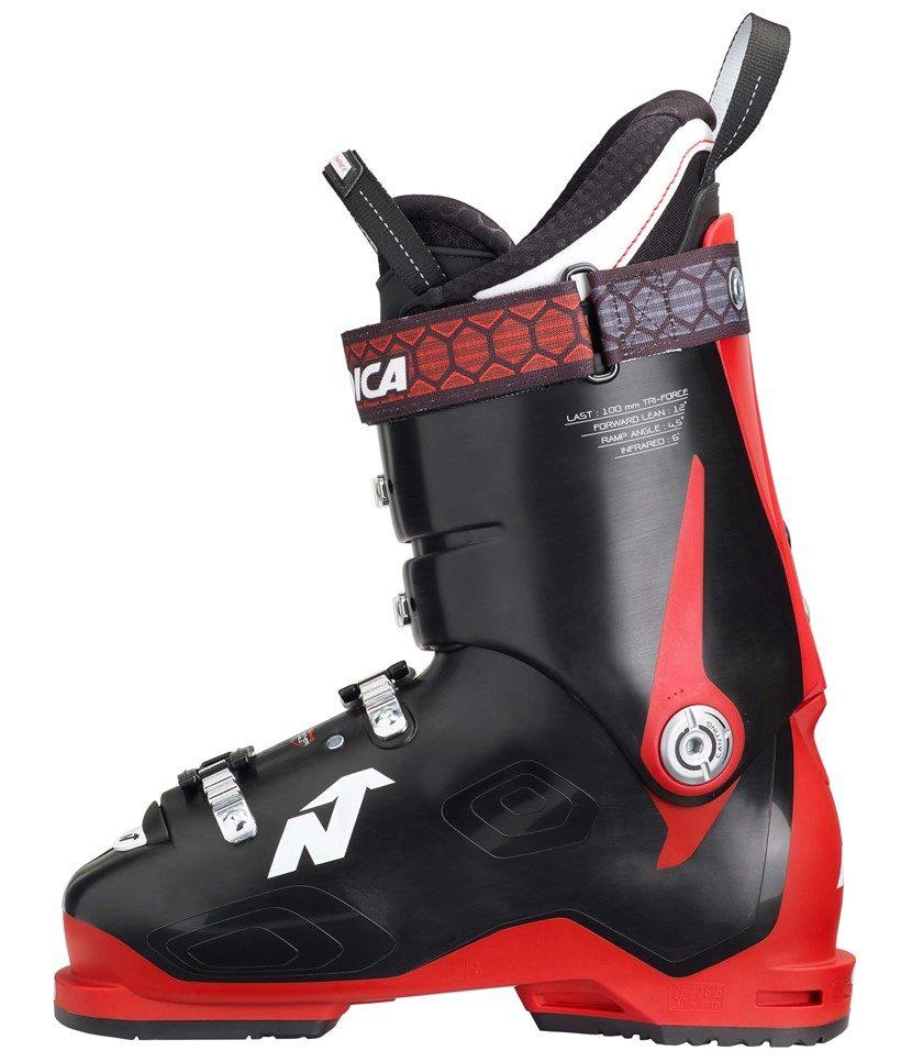 Nordica Speedmachine 110 Ski Boots Black Red 2.