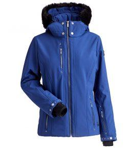 Nils Cossette Faux Fur Women's Jacket Navy