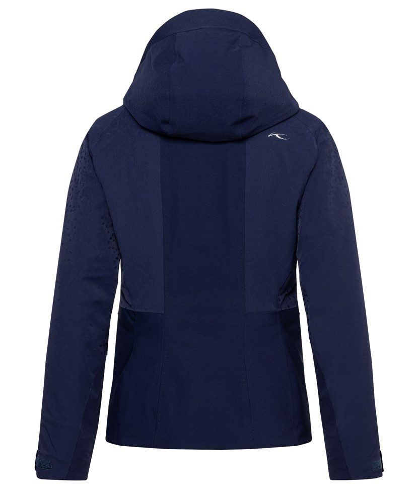 Kjus Evolve Women's Jacket Atlanta Blue Back