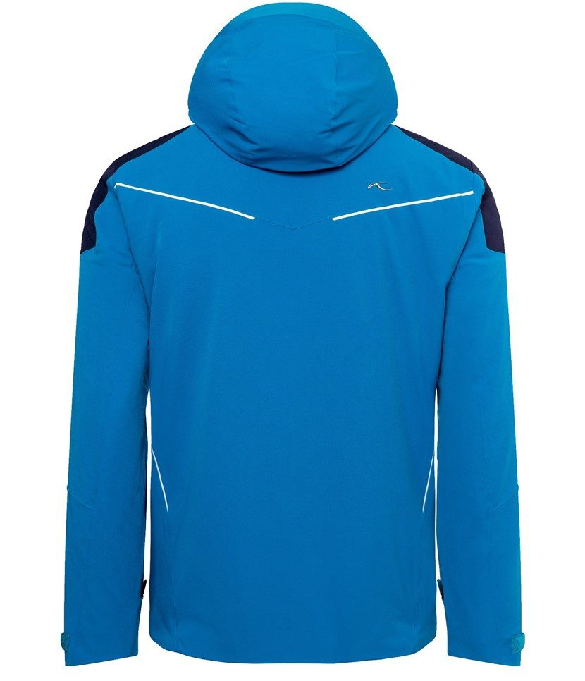 Kjus Formula Men's Jacket Aruba Blue/Atlanta Blue Back