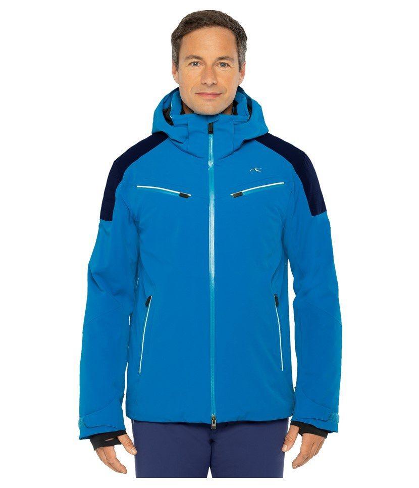 Kjus Formula Men's Jacket Aruba Blue/Atlanta Blue Model