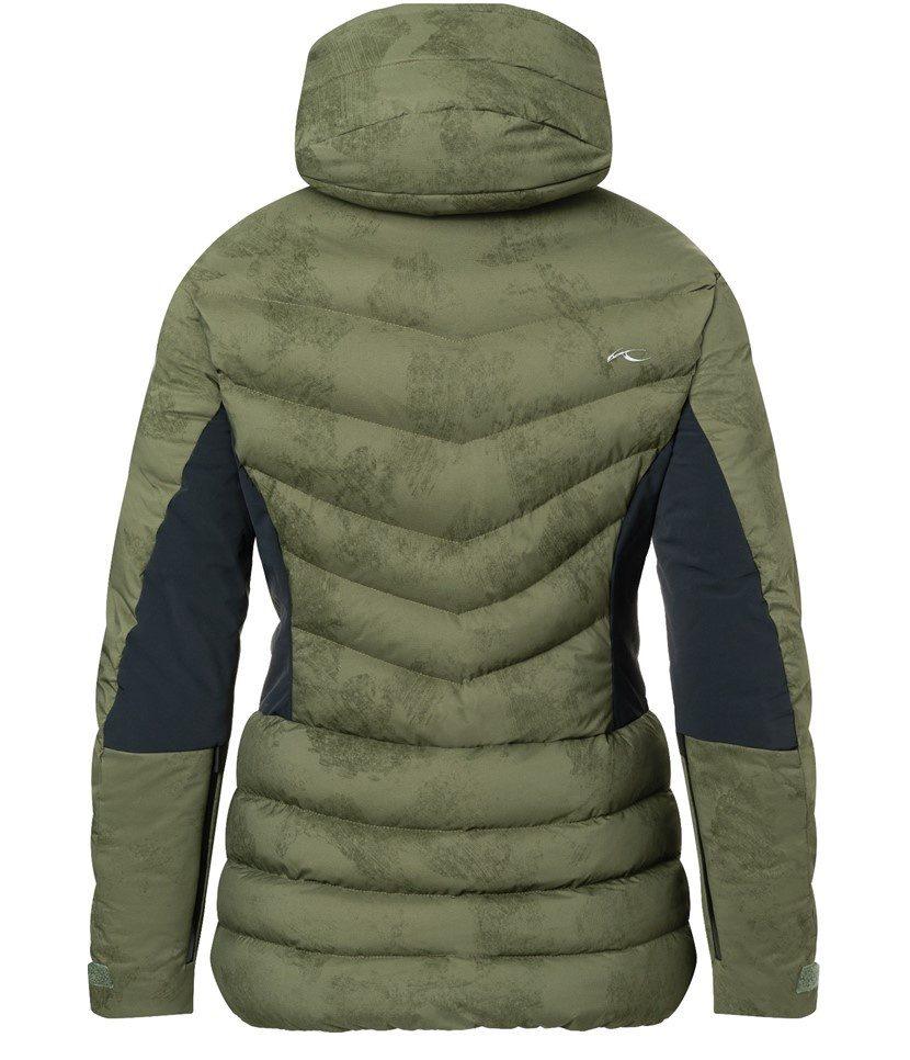 Kjus Duana Women's Jacket Int Green/Black Back
