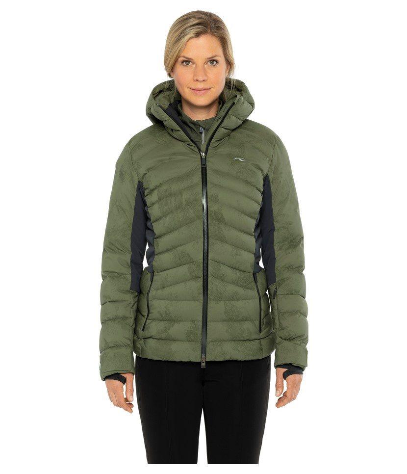 Kjus Duana Women's Jacket Int Green/Black Model