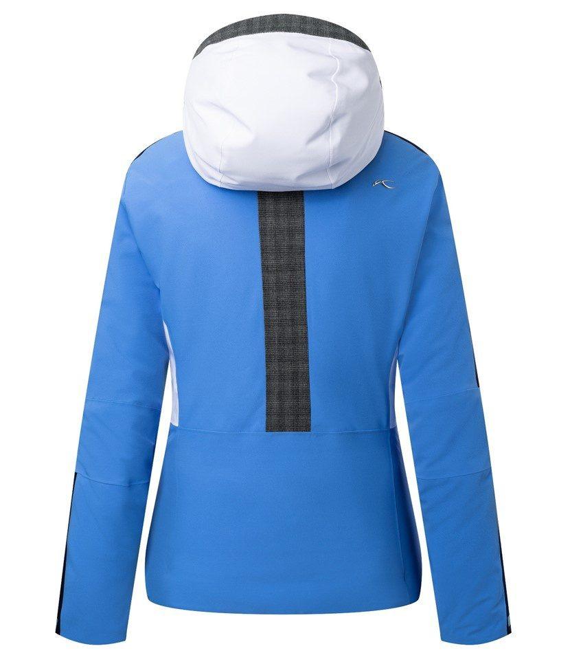 Kjus Formula Women's Jacket Periwinkle Blue/Atlanta Blue Back